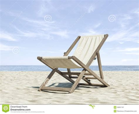chaise plage chaise longue on the royalty free stock photography cartoondealer com 22768577