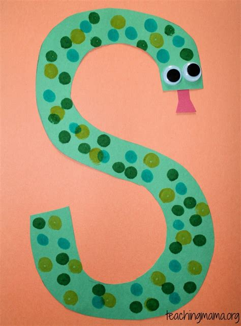 5 activities for the letter s teaching 841 | snake 755x1024