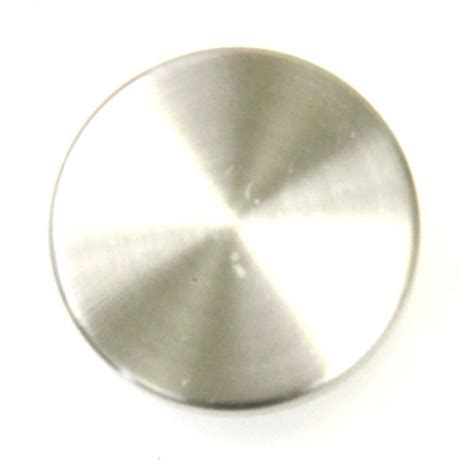 bead cabinet pull knob brushed nickel 1 quot dia european style kitchen cabinet knob