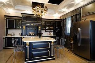 black kitchen decorating ideas pictures of kitchens traditional black kitchen cabinets