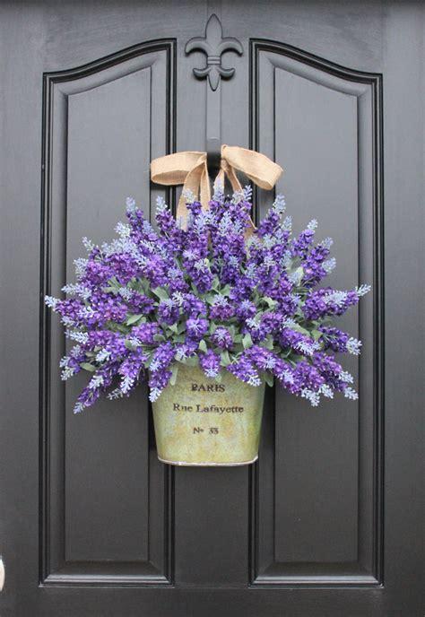 lavender wreaths lavender fields spring flowers summer