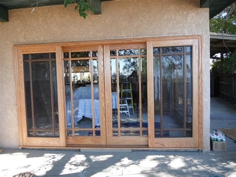 gallery of confortable wood sliding patio door about
