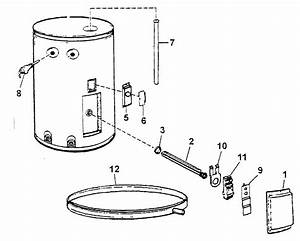 State P6201oms Electric Water Heater Parts