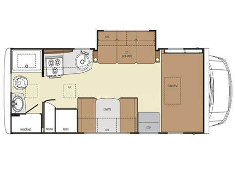 rv class  motorhome floor plans ford class  motorhomes