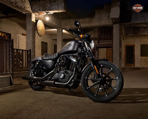 2016 Harley-davidson Iron 883 Receives Suspension Upgrades