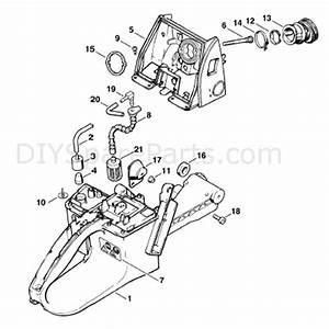 Stihl Ms 660 Chainsaw  Ms660 Magnum Br  Parts Diagram