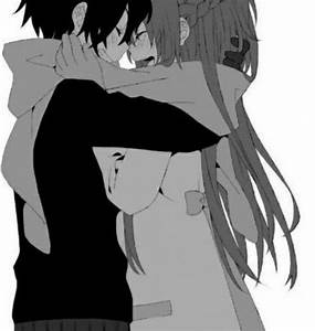 Cute Anime Couples Hugging Tumblr - Great Drawing