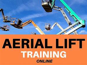 qualified aerial lift operator card hired services cela servicing scissor lift cherry crane With scissor lift training video