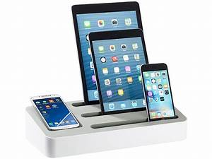 Mobile Ladestation Handy : callstel multi ladestation 4in1 universal ladest nder f r tablets und smartphones ~ Markanthonyermac.com Haus und Dekorationen