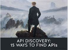 API Discovery 15 Ways to Find APIs Nordic APIs