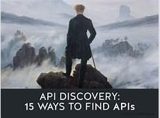 API Discovery 15 Ways to Find APIs Nordic APIs