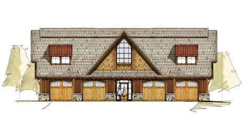 oaks carriage house timber frame house plans