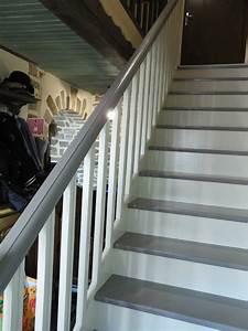 comment repeindre un escalier en bois vernis meilleures With repeindre un escalier en blanc 1 comment repeindre facilement un escalier en bois