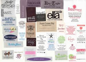 printed satin labels With clothing labels australia