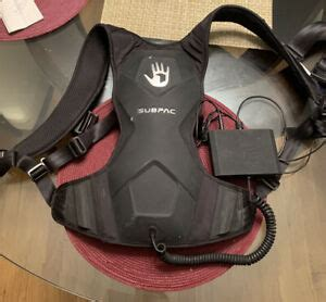 I wouldn't take the risk, my subpac is too important to me lol. SubPac M2 Wearable Bass Backpack for Virtual Reality ...
