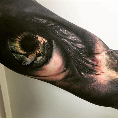 die besten  tattoo auge ideen auf pinterest totenkopf