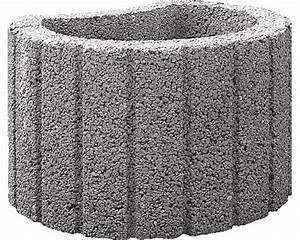 Obi Pflanzkübel Beton : pflanzring lusoflor grau 48x38x30 cm bei hornbach kaufen ~ Watch28wear.com Haus und Dekorationen