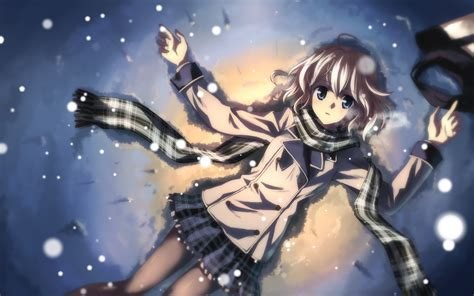 Anime Winter Wallpaper by Anime Winter Wallpaper 2560x1600 82598