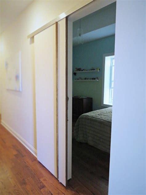 Bedroom Sliding Doors by Diy A Sliding Barn Type Bedroom Door Hometalk