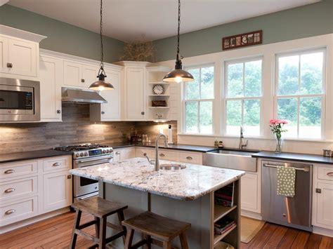 wood kitchen backsplash photo page hgtv