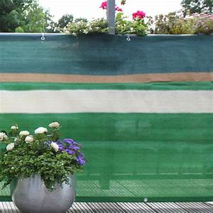 Sichtschutzmatten Kunststoff Meterware : balkonbespannung pe design gr n beige sichtschutz ~ Eleganceandgraceweddings.com Haus und Dekorationen