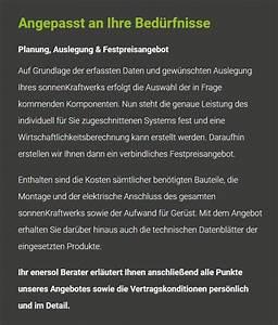 Stromspeicher Für Solaranlagen : photovoltaik f r leonberg enersol sonnenkraftwerke ~ Kayakingforconservation.com Haus und Dekorationen