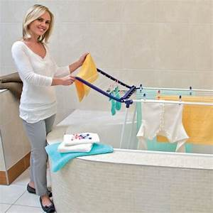 Wäscheständer Für Draußen : leifheit pegasus 120 compact badewannentrockner ~ Michelbontemps.com Haus und Dekorationen