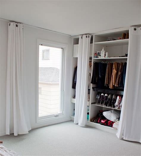 best 20 curtain closet ideas on cost of