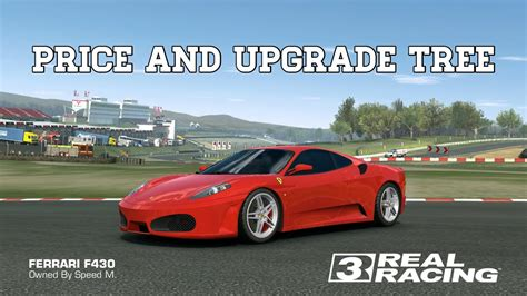 real racing  ferrari  price  upgrades rr youtube