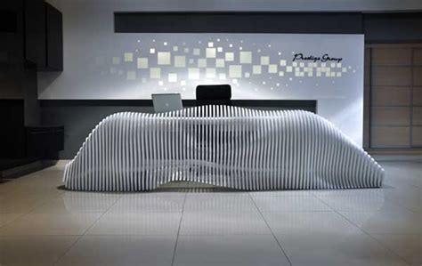 the reception desk for the prestige group a furniture