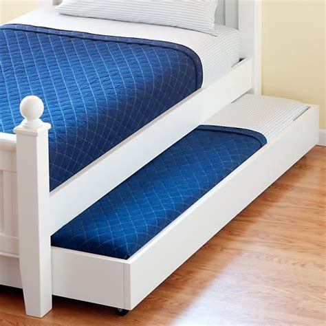 Bed With Pull Out Bed Underneath by This Is A Brilliant I Thought Of Drawers Etc But