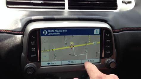 chevrolet camaro add  factory navigation youtube