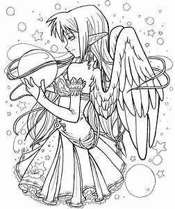 Angel Coloring Pages For Adults Coloring Home