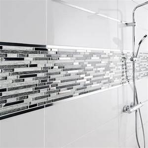 Profilé Alu Salle De Bain : mosa que mur fantasy barette gris leroy merlin ~ Premium-room.com Idées de Décoration