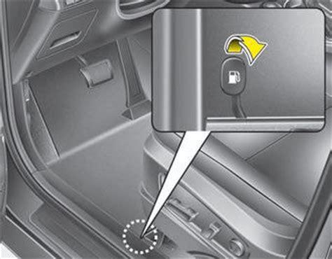 Boat Gas Tank Opener by Kia Soul Opening The Fuel Filler Lid Fuel Filler Lid