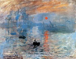 Claude Monet Impression Sunrise Painting, A Masterpiece of ...