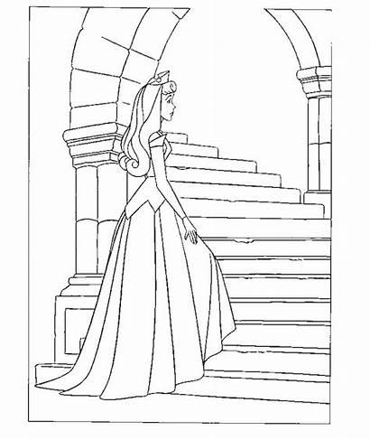 Coloring Pages Sleeping Beauty Disney Maleficent Doornroosje