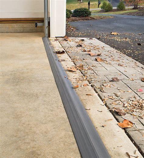 Garage Threshold by For Our New Door Garage Door Threshold Shield Arby