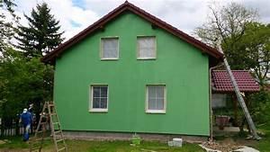 Barevné fasády rodinných domů fotogalerie