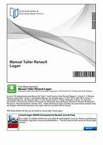 Manual Taller Renault Logan By Jhoan Alexander