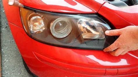 how to replace front headlight headl light bulbs on a