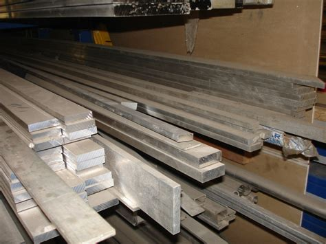 Aluminium Flacheisen  Metallteile Verbinden