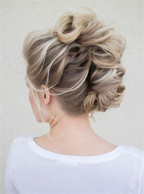 Mohawk Updo Hairstyles by Wedding Inspiration Bridal Hairstyles Hair Styles