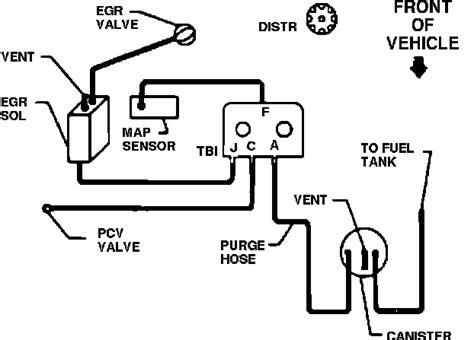 Vacuum Hose Diagram For Chevy Pickup