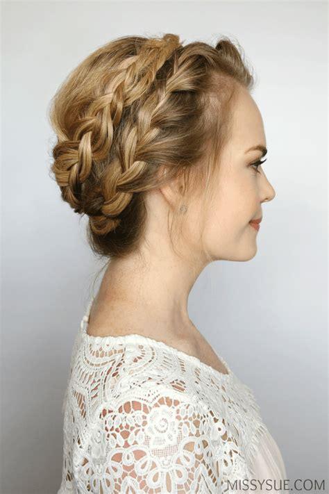 french milkmaid braids women s world milkmaid braid