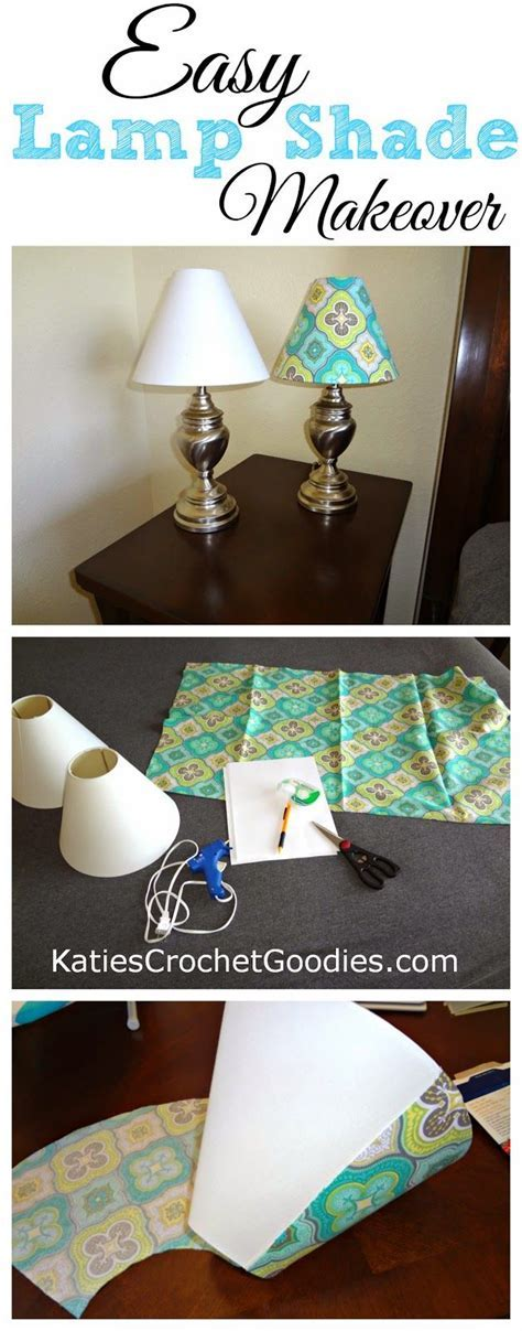DIY: Recovering Lamp Shades TUTORIAL tips   Ikea Decora