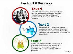 Factors Of Success Shown With Circles Ppt Slides Presentation Diagrams Templates Powerpoint Info