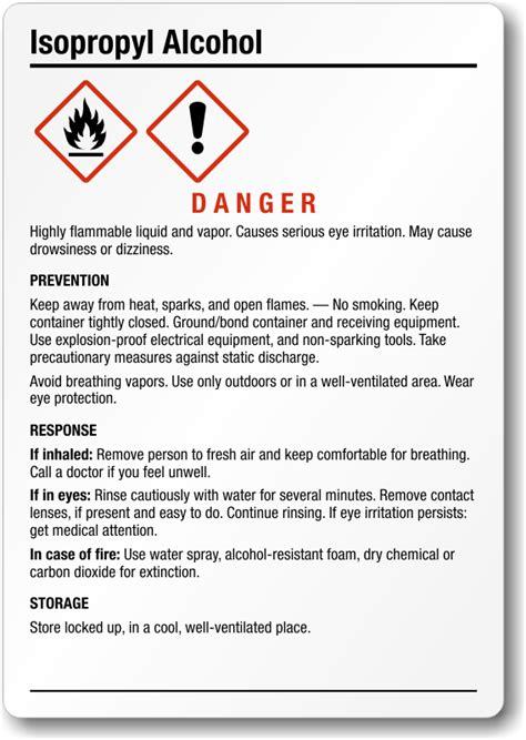 msds labels  spray bottles top label maker