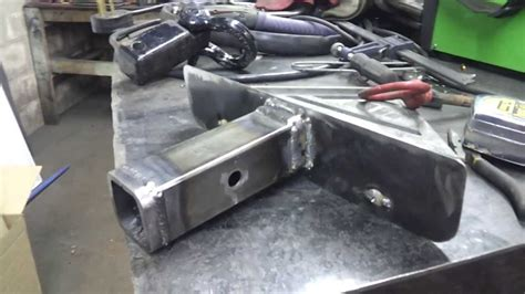 custom license plate mount receiver hitch youtube