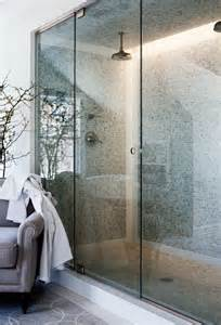 Bathroom with Double Shower Heads